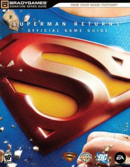 Superman Books - Superman Returns(tm): The Videogame Signature Series Guide