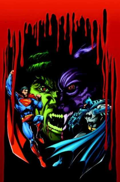 Superman Books - Superman and Batman vs. Vampires and Werewolves