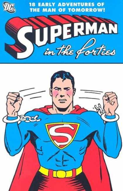 Superman Books - Superman in the Forties