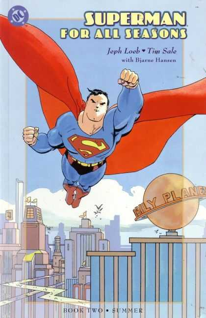 Superman For All Seasons 2 - Daily Planet - Flying - Tim Sale - Loeb - Hansen - Tim Sale