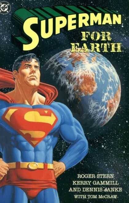 Superman For Earth 1 - Roger Stern - Kerry Gammill - Dennis Janke - Tom Mcgraw - Dc Comics - Jerry Ordway