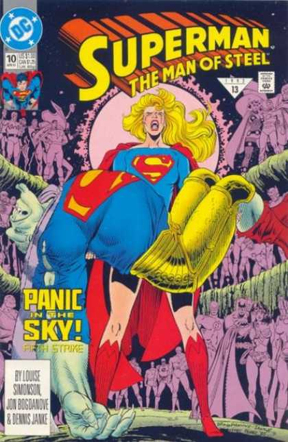 Superman: Man of Steel 10 - Heros - Superwoman - Lady - Enemies - Universe