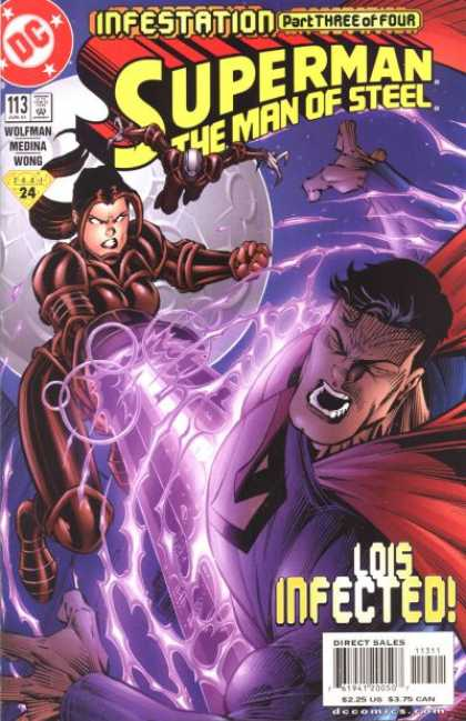 Superman: Man of Steel 113 - Infestation Part Three Of Four - Lois Infected - Wolfman - Medina - Wong