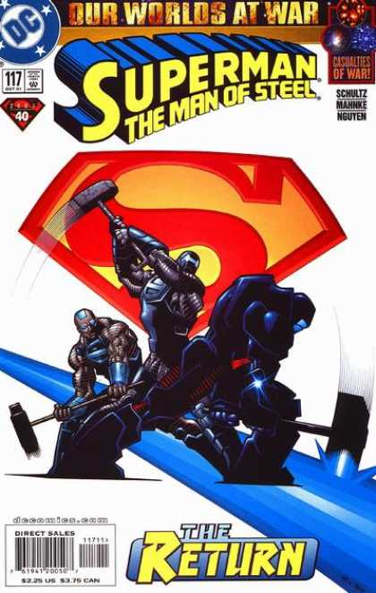 Superman: Man of Steel 117 - Distroying The Bridge - Three On A Mission - World At War - Wheres The Hero - Who Will Live