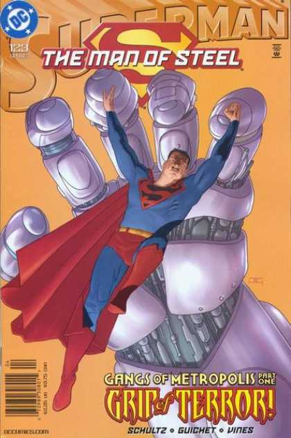 Superman: Man of Steel 123 - Tyrannical Control - Good Will - Obstacle - Good Shall Triumph Over Evil - Heroic Strength
