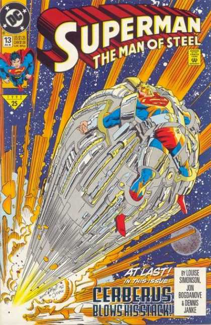 Superman: Man of Steel 13 - Cerberus - At Last - Explosion - Outer Space - Planets