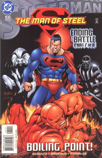 Superman: Man of Steel 131 - Super Man - The Man Of Steel - Masks - Furious - Muscles