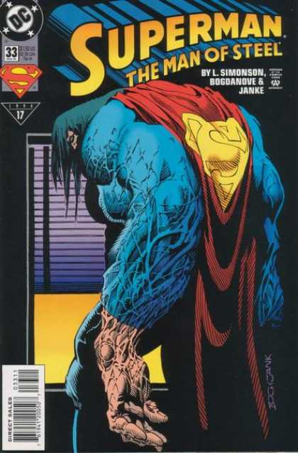 Superman: Man of Steel 33 - Dc - Simonson - Bogdanove - Janke - Approved By The Comics Code Authority