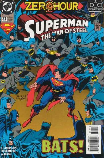 Superman: Man of Steel 37 - Batman - Look Alikes - Clones - Copies - Attacking