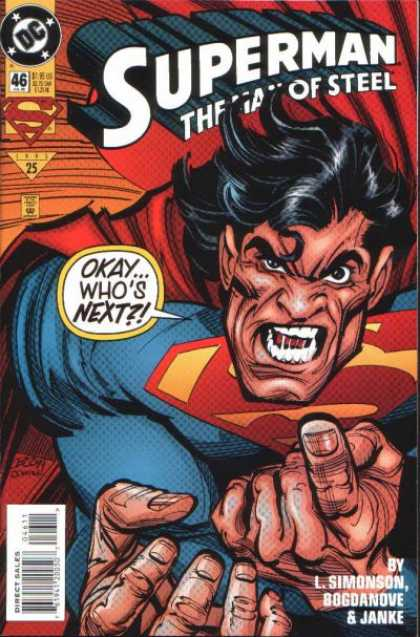 Superman: Man of Steel 46 - Super Hero - Clarke Kent - Smallville - Metropillise - Super Strength