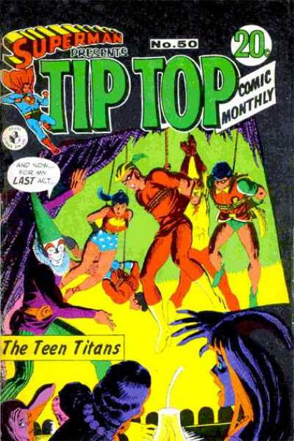 Superman Presents Tip Top 50