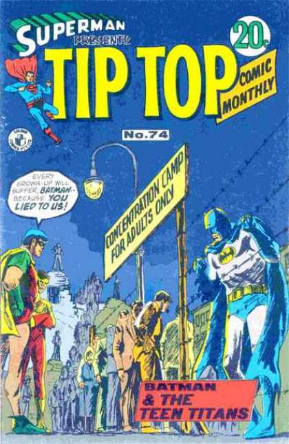 Superman Presents Tip Top 74