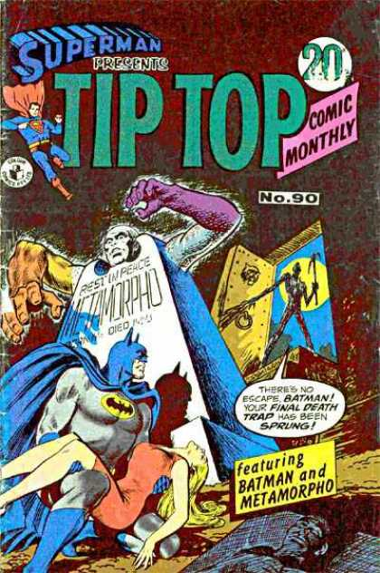 Superman Presents Tip Top 90