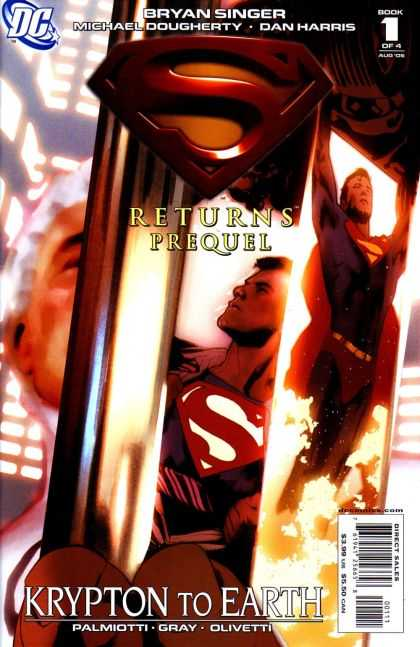 Superman Returns (Prequel) 1 - Book 1 Of 4 - Prequel - Krypton To Earth - Fire - Travel