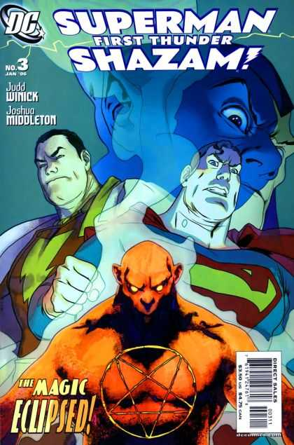 Superman - Shazam 3 - In The Shadows - The Conqueror - Superman The Middleman - Too Much To Handle - Devil Defeats Superman