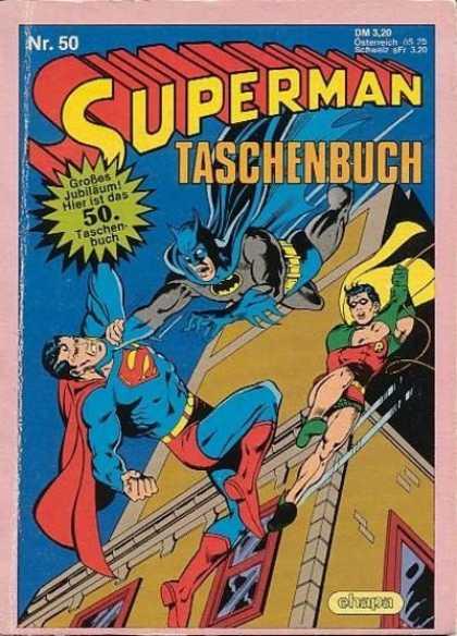 Superman Taschenbuch 50