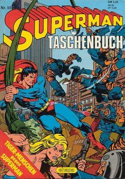 Superman Taschenbuch 55