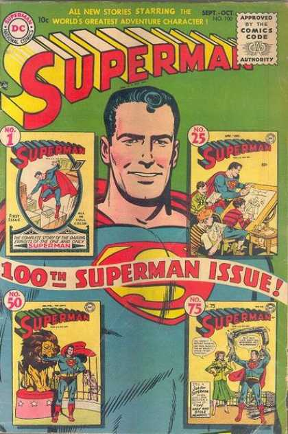 Superman 100 - Joe Shuster
