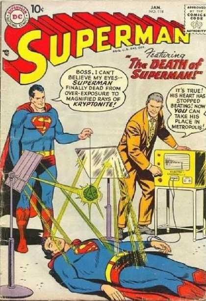 Superman 118 - Curt Swan