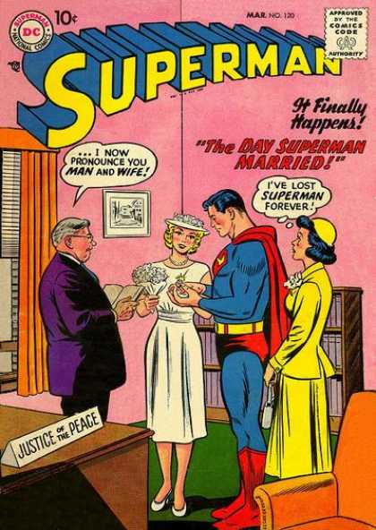 Superman 120 - Superman - Dc - The Day Superman Married - Mariage - Nbr 120 - Curt Swan
