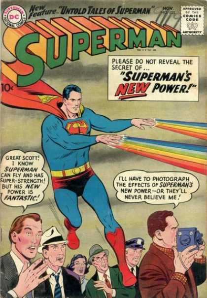 Superman 125 - Comics Code - Costume - Superhero - Untold Tales Of Superman - People - Curt Swan
