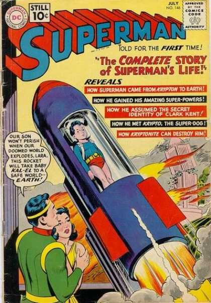 Superman 146 - Complete Story - Lara - Kal-el - Kryptonite - Super-powers - Curt Swan, Sheldon Moldoff