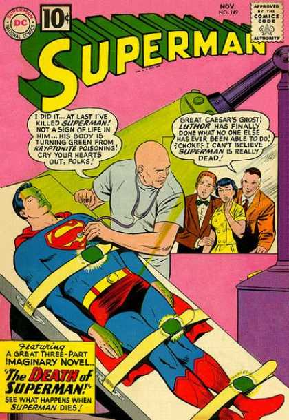 Superman 149 - Curt Swan, Sheldon Moldoff