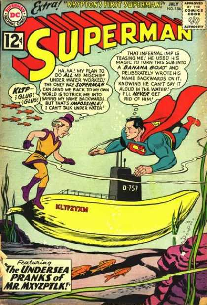 Superman 154 - Curt Swan