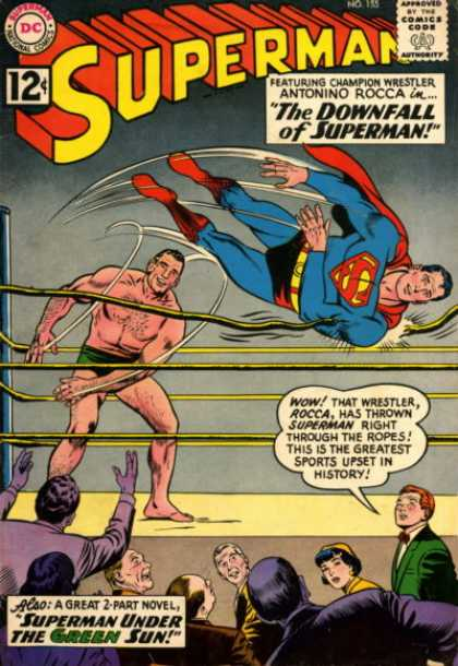 Superman 155 - Curt Swan, Sheldon Moldoff
