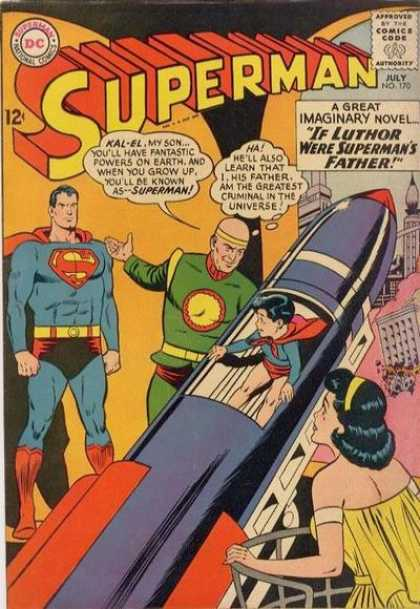Superman 170 - Curt Swan, Sheldon Moldoff
