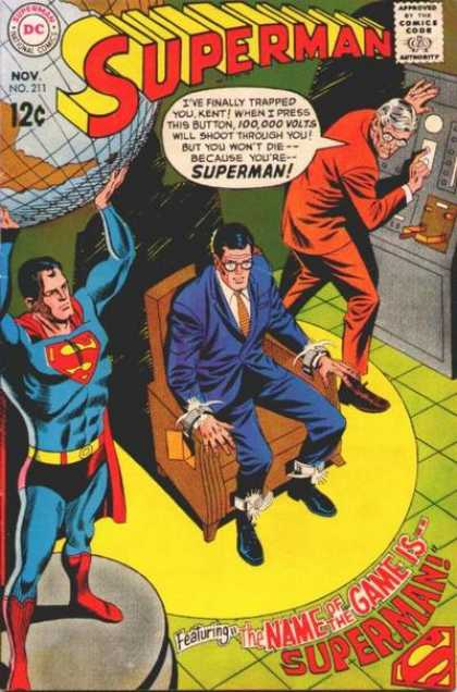 Superman 211 - Curt Swan