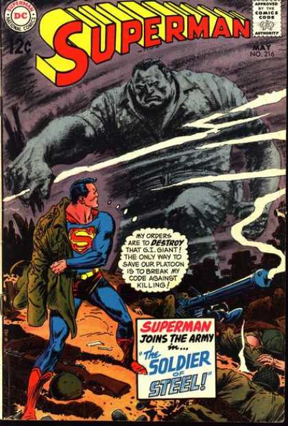 Superman 216 - Joe Kubert