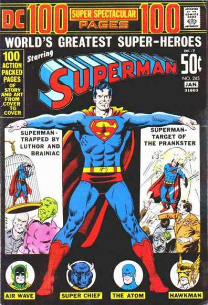 Superman 245 - Worlds Greatest - Superman - Dc - Luther - Brainiac - Murphy Anderson
