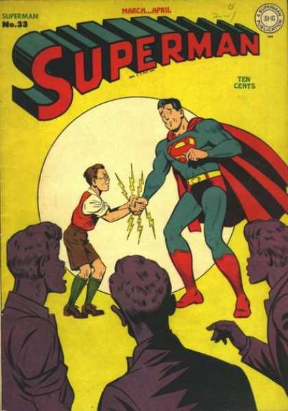Superman 33 - Dc - March - No33 - Spectacle - Ten Cents