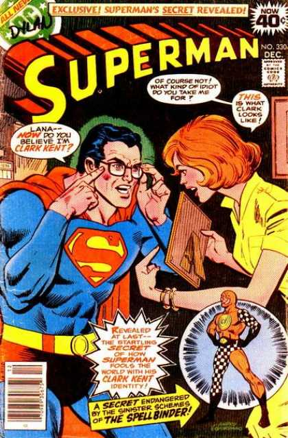 Superman 330 - No 330 - Superman - December Issue - Exclusive - The Spellbinder - Dick Giordano, Ross Andru