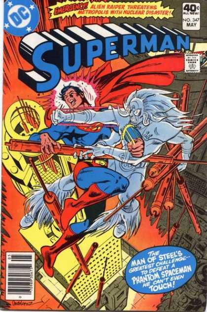 Superman 347 - Emergency - Greatest Challenge - The Man Of Steels - We Cant Even Touch - Phantom Spaceman