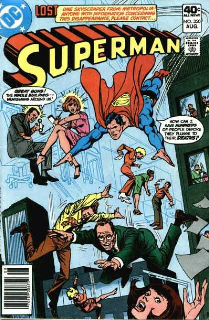 Superman 350 - Dick Giordano, Ross Andru