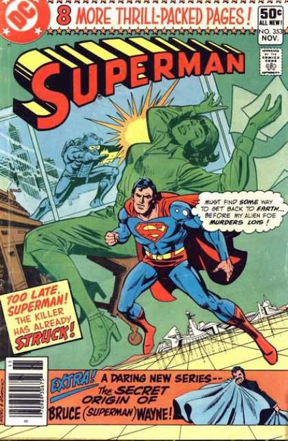 Superman 353 - Dick Giordano, Ross Andru