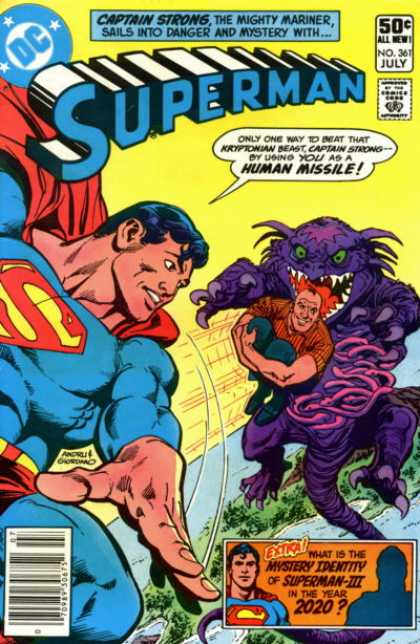 Superman 361 - Dick Giordano, Ross Andru