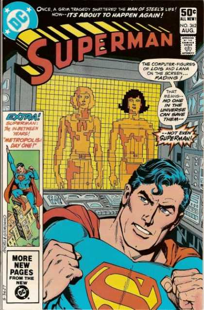 Superman 362 - Dick Giordano, Ross Andru