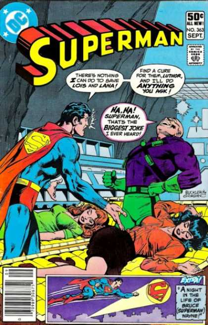 Superman 363 - Dick Giordano, Richard Buckler