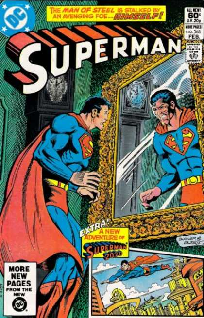 Superman 368 - Richard Buckler, Terry Austin