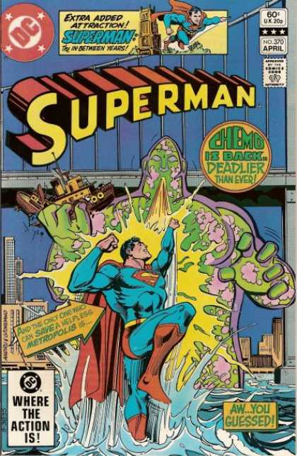 Superman 370 - Dick Giordano, Ross Andru