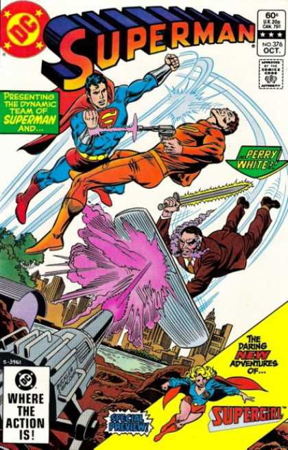 Superman 376 - Richard Buckler