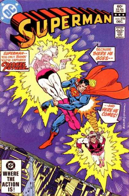 Superman 378 - Dick Giordano, Richard Buckler