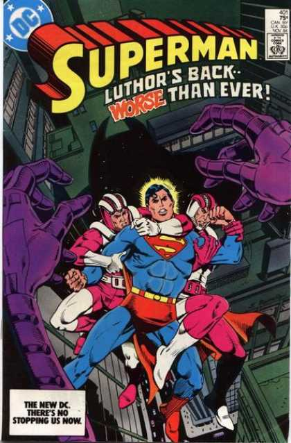 Superman 401 - Luthors Back - Superman - Worse Than Ever - Purple Hands - The New Dc - Eduardo Barreto