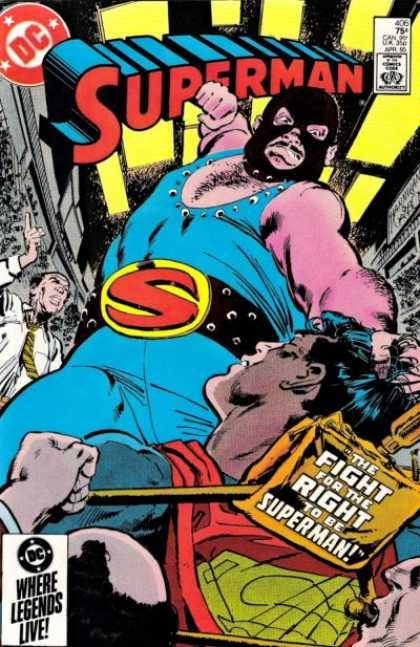 Superman 406 - Klaus Janson
