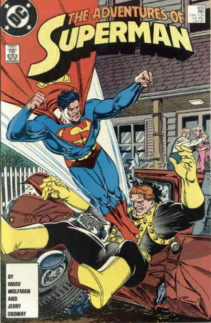 Superman 430 - Superman - Marv Wolfman - Jerry Ordway - Dc - Adventures
