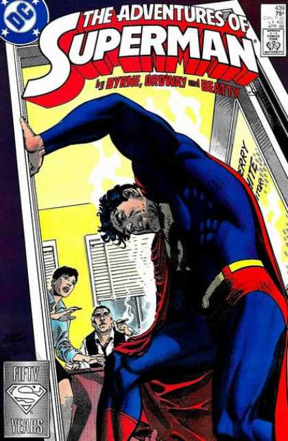Superman 439 - Cigars - Byrne Oroway And Beatty - 50 Years - Dc - Blinds