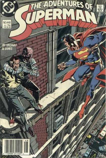 Superman 448 - Superhero - Hostage - Gun - Tall Building - Mummy